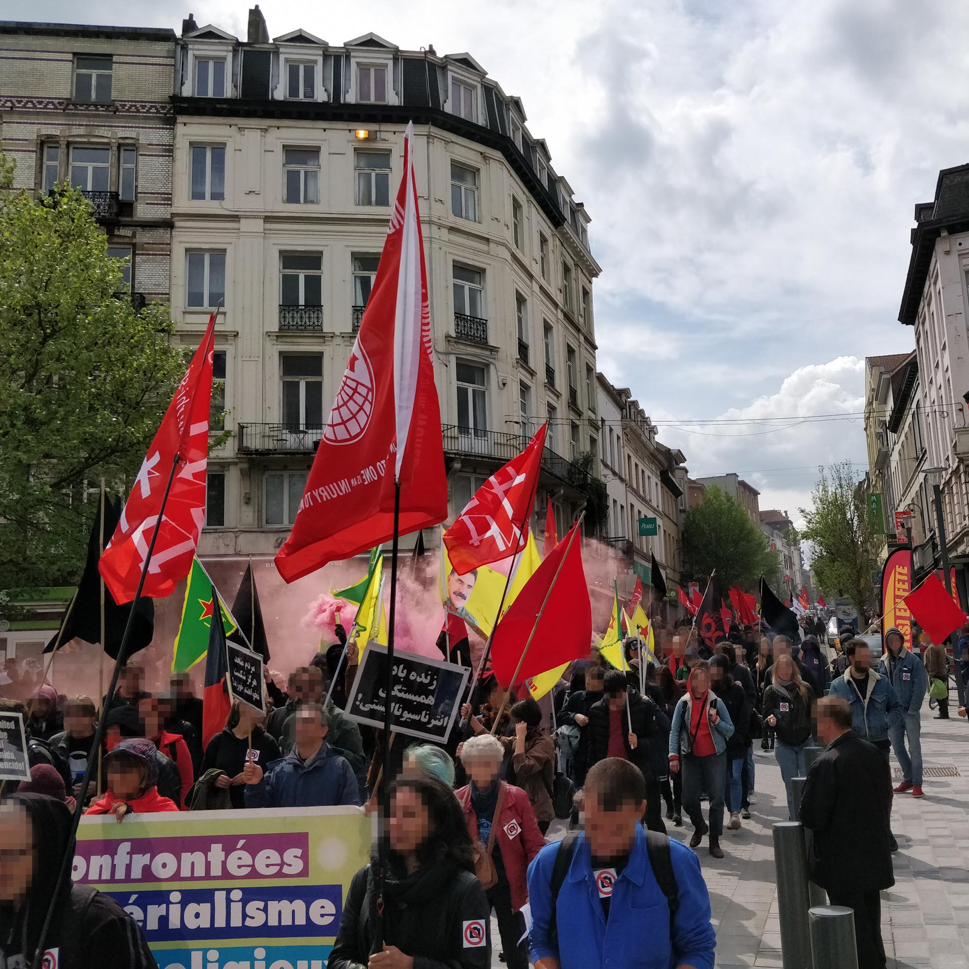 1er mai révolutionnaire Bruxelles
