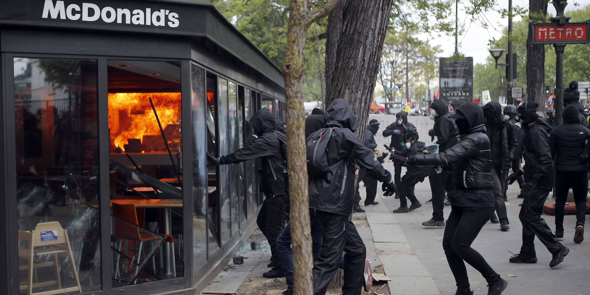 Les incidents de Paris