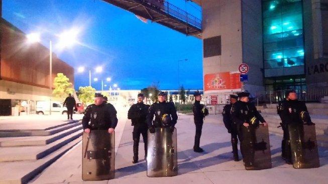 La police à l'université de Mirail