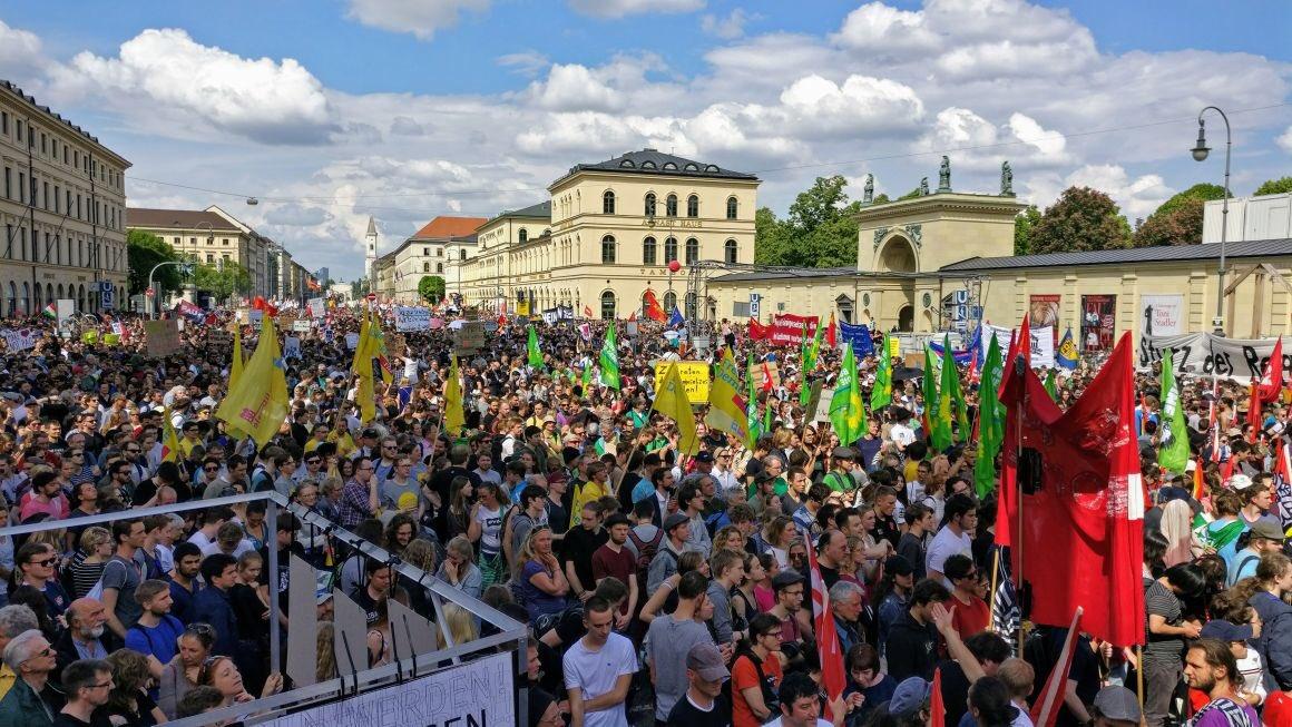 La manifestation No-PAG ce jeudi à Munich