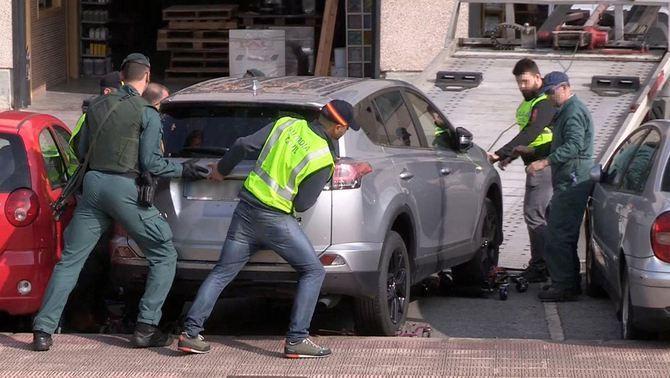 Saisie d'un véhicule lors de l'opération