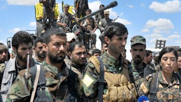 Combattants des SDF