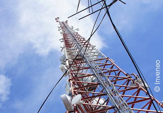 Une tour de télécommunication