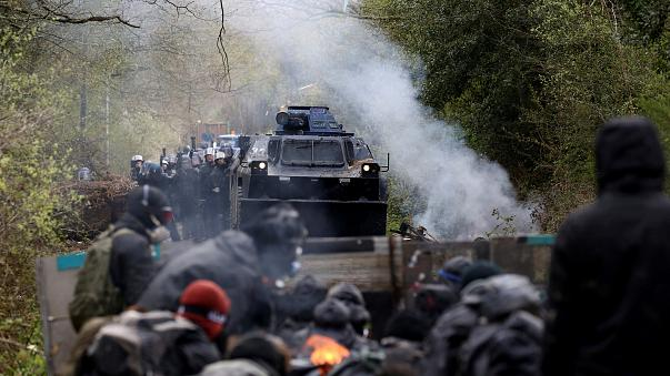 Affrontements à la ZAD (archives)