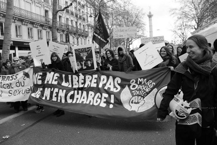 Cortège du collectif 8 Mars Pour TouTEs (archives)
