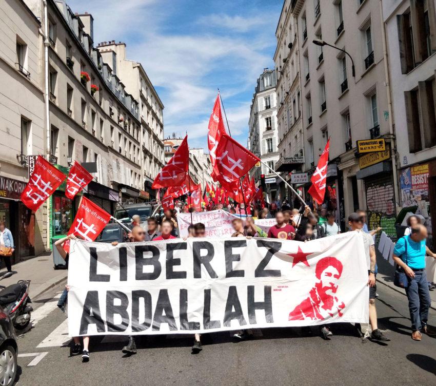 Des centaines de manifestants pour Georges Abdallah