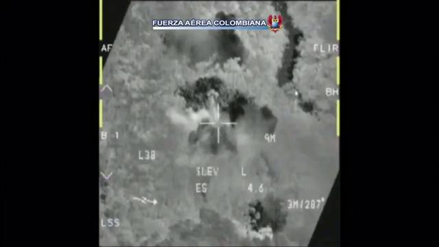 Image du bombardement