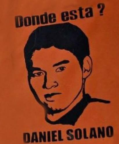 Où est Daniel Solano ?