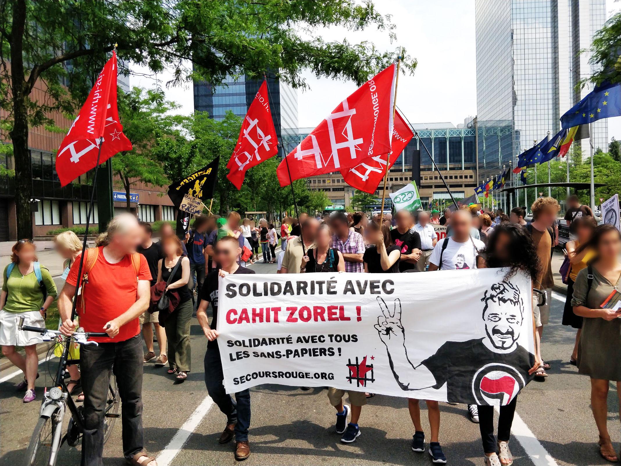Solidarité avec Cahit