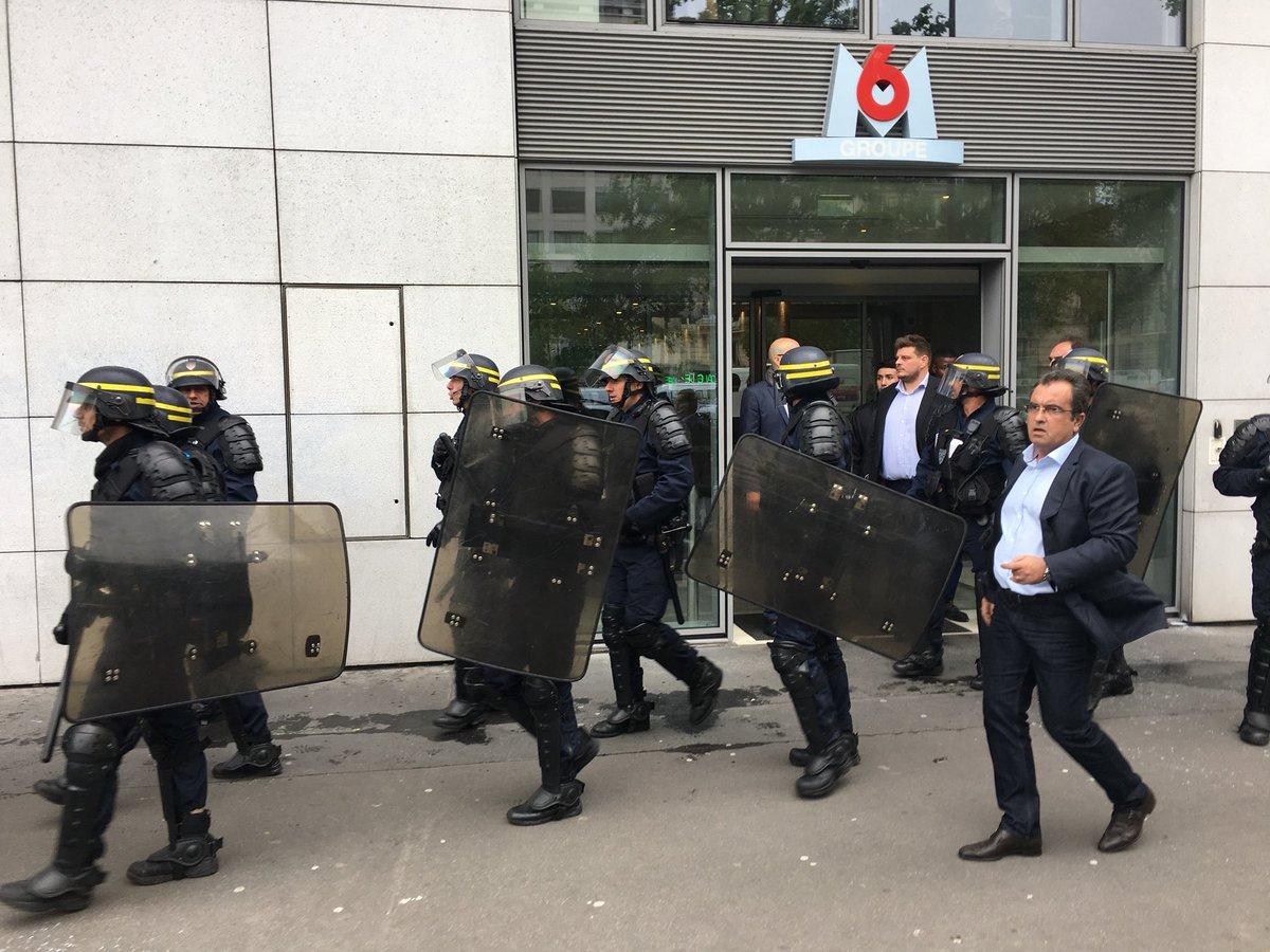 Les incidents à Neuilly-sur-Seine