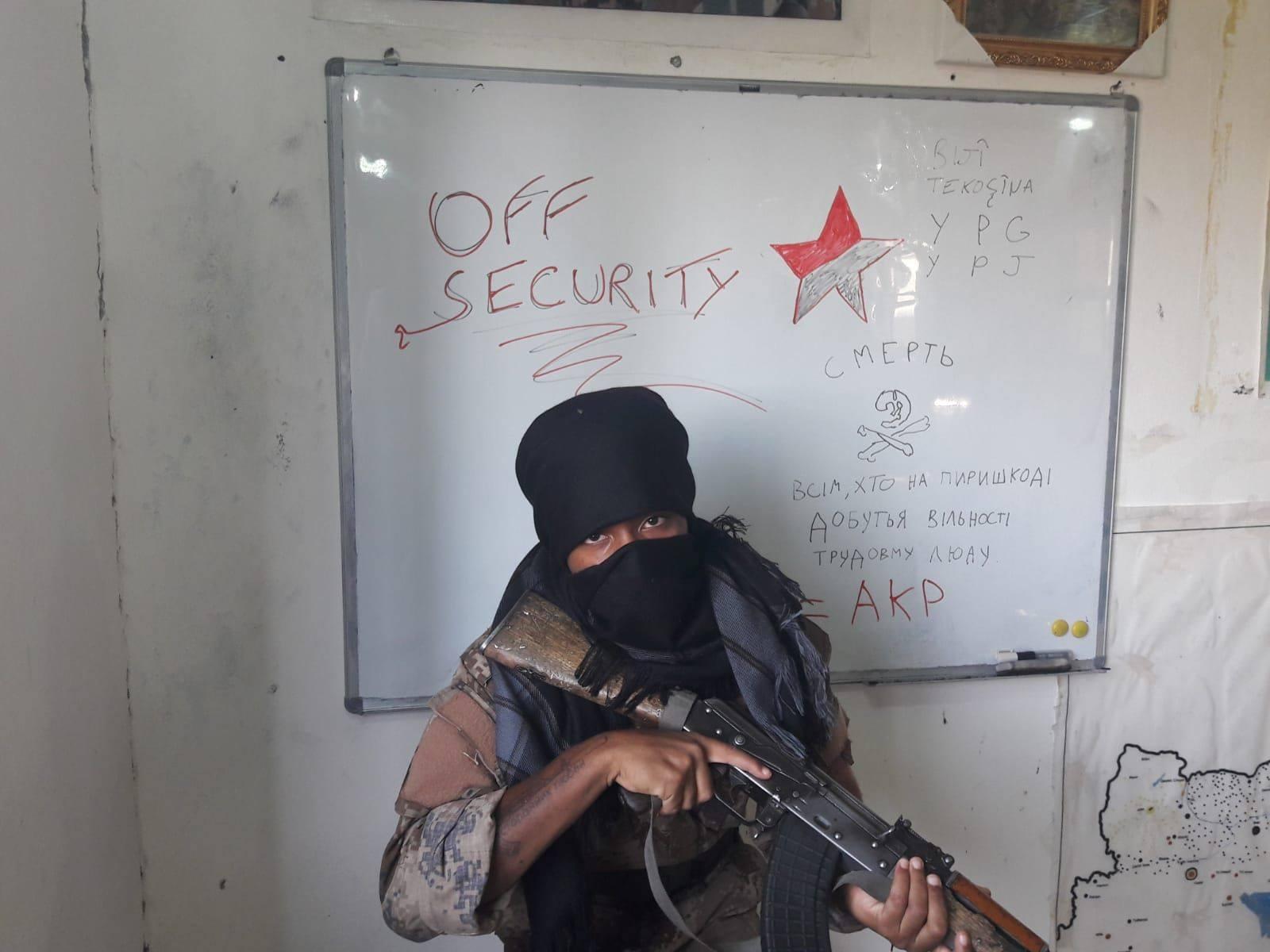 Clin d'oeil à Offsec, au Rojava