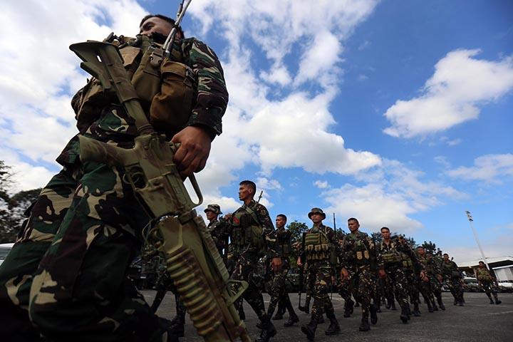 Opération de contre-guérilla aux Philippines