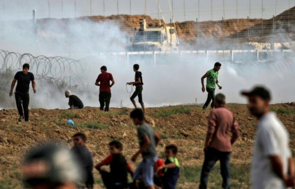 A la frontière de Gaza ce vendredi 13 juillet