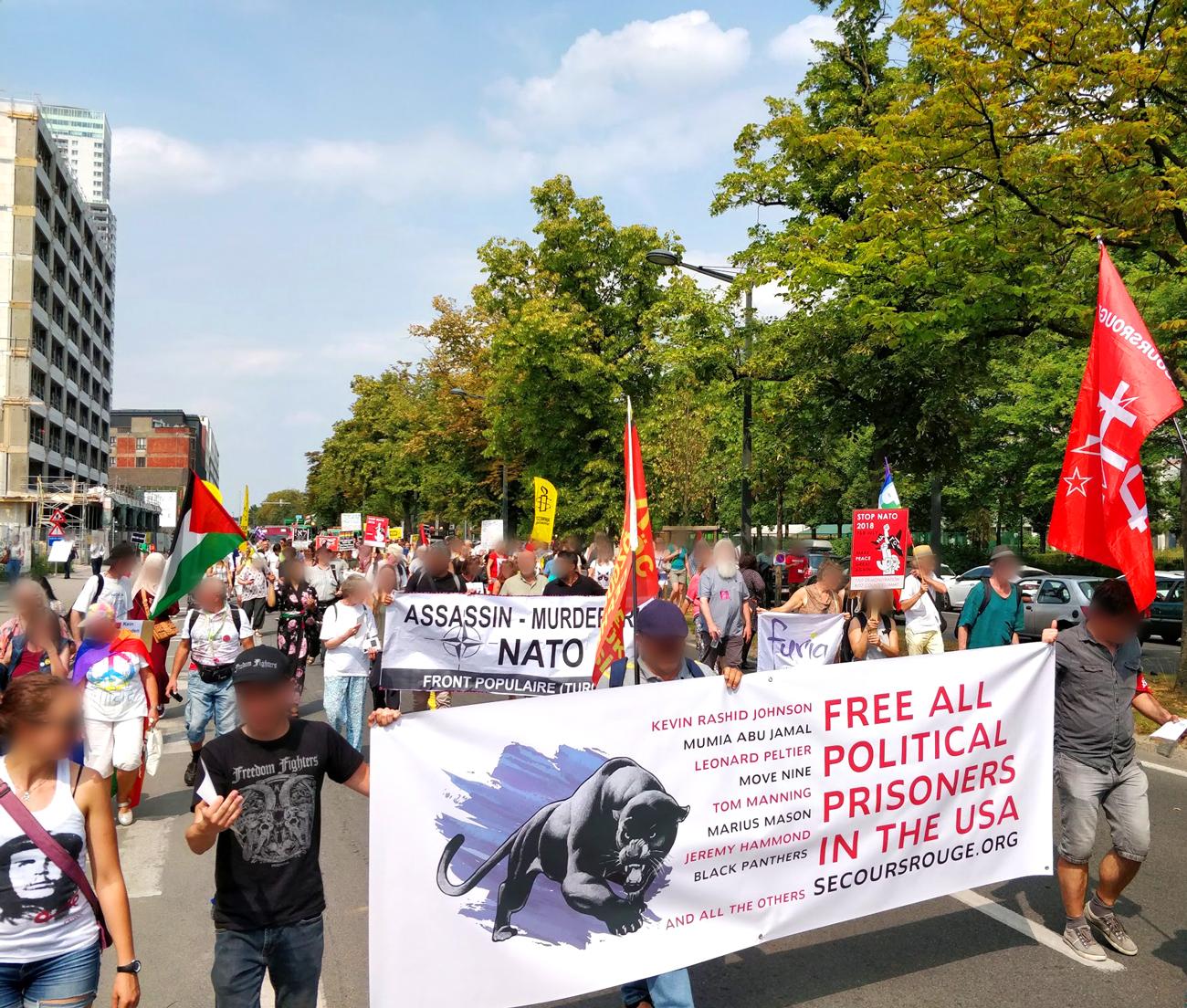 Liberté pour tous les prisonniers politiques aux USA