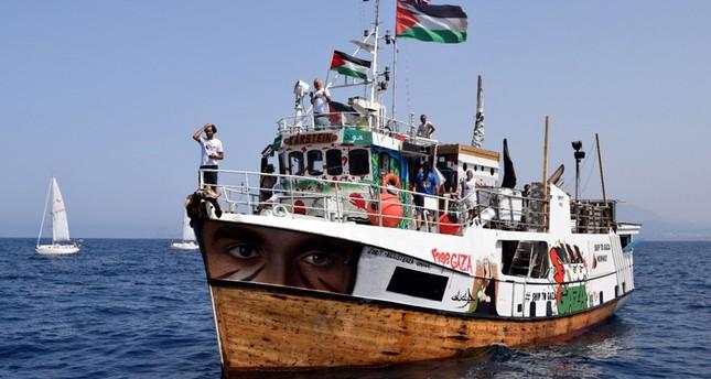 Le Al-Awda navigant vers Gaza