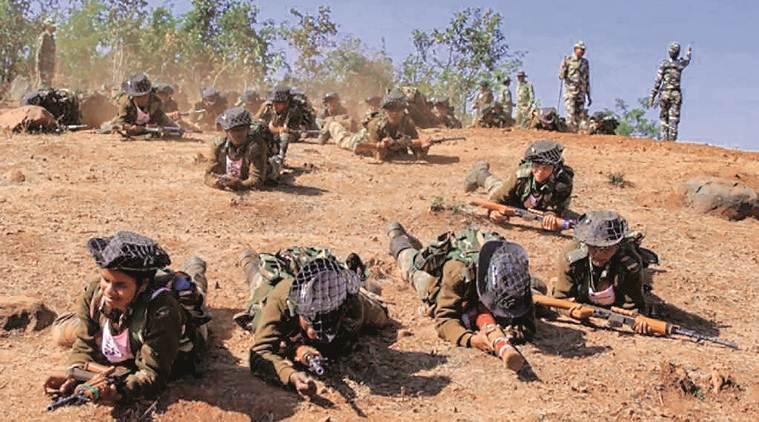 Commandos du Bastariay Warriors à l'entrainement
