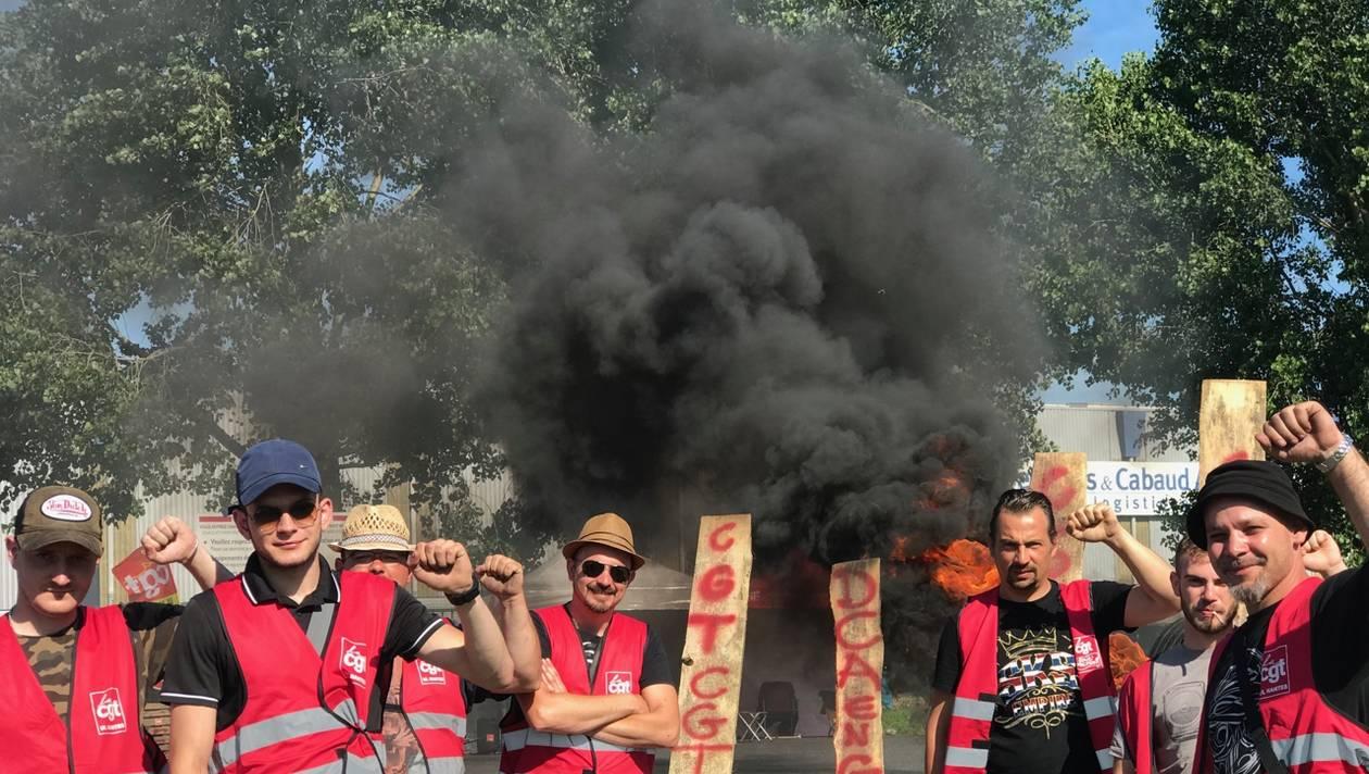 La grève chez Descours & Cabaud