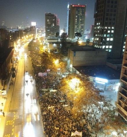 Sixième marche nationale pour un avortement légal, libre et sûr au Chili