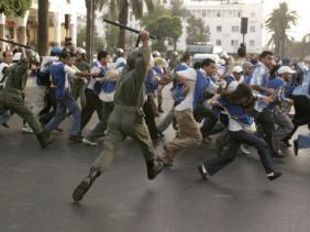 La  répression à Nador