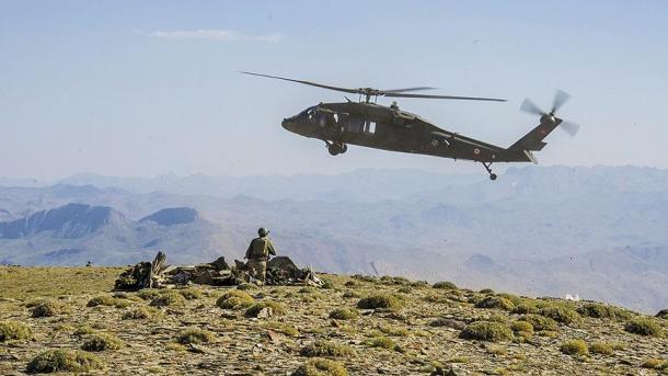 Opération anti-PKK à Sirnak