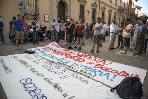 Rassemblement en solidarité avec Nicolas, travailleur de Logesta emprisonné