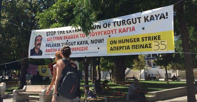Solidarité avec Turgut Kaya à Athènes !