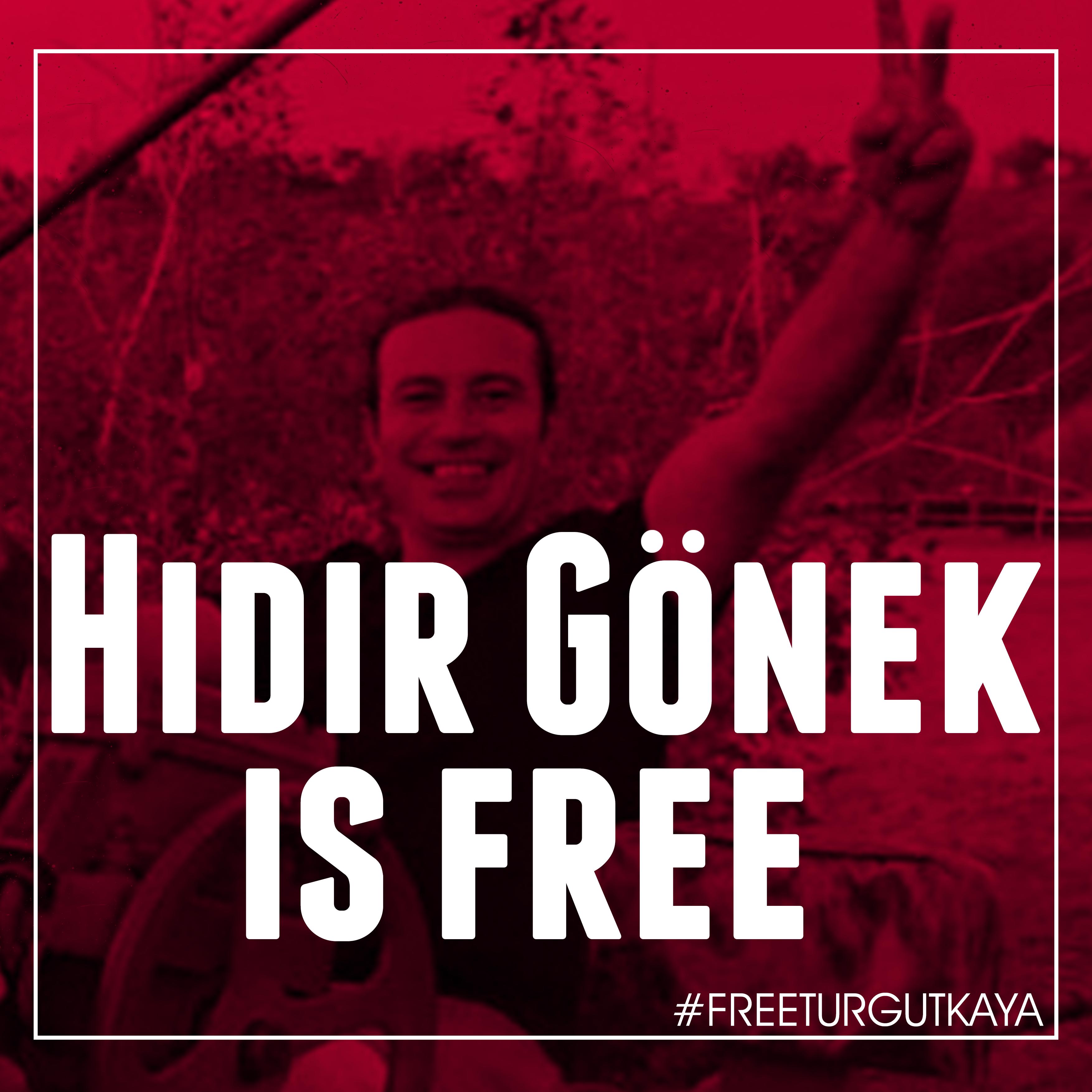 Hidi Gönek est libre !