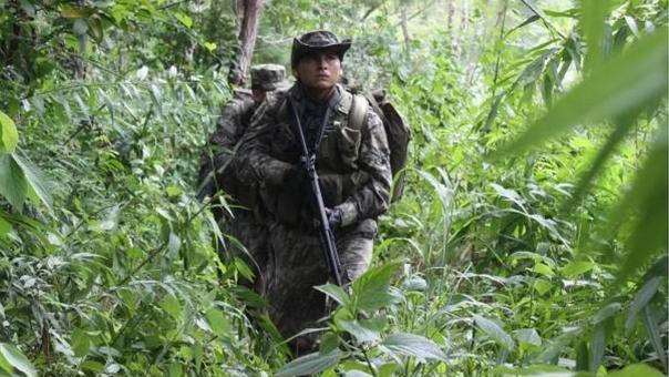 Opération anti-guérilla au Pérou