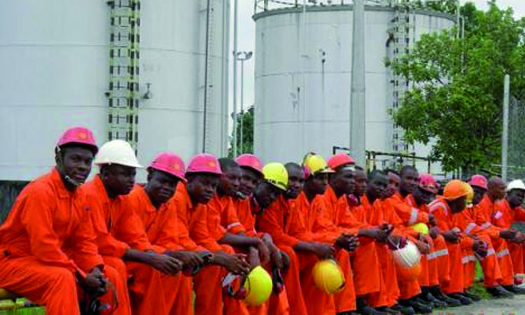 La grève chez Total Gabon (archive)