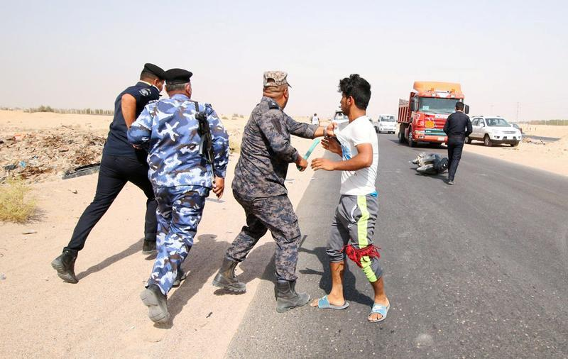 Manifestations réprimées en Irak