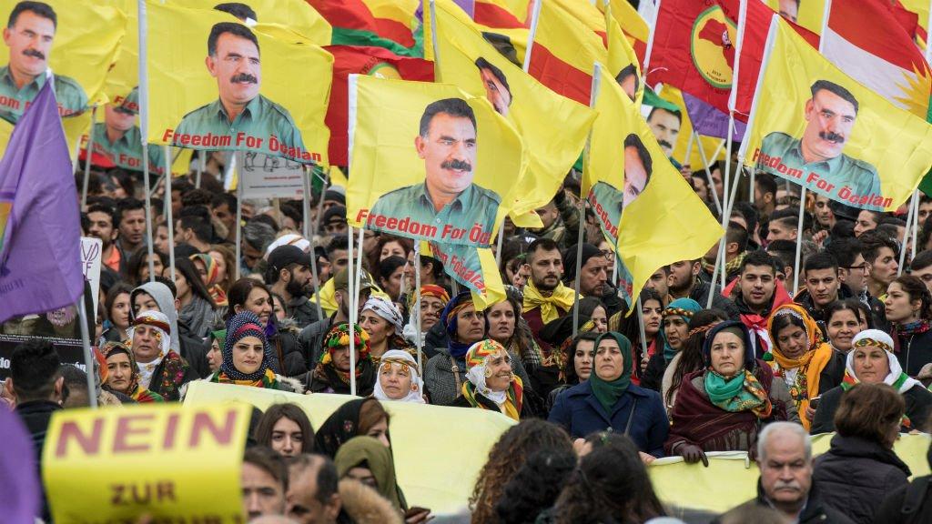 Manifestation pour la libération d'Abdullah Öcalan (archives)