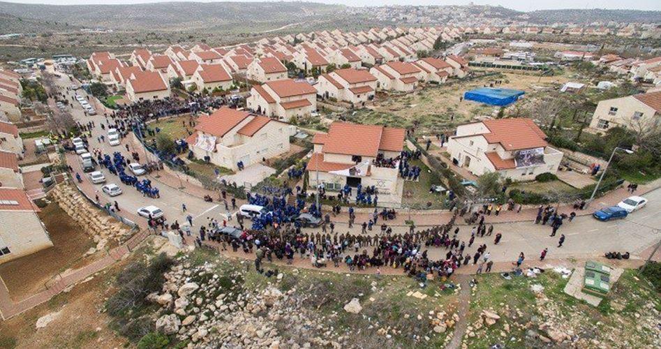 Colonie sioniste près du village de Ras Karkar