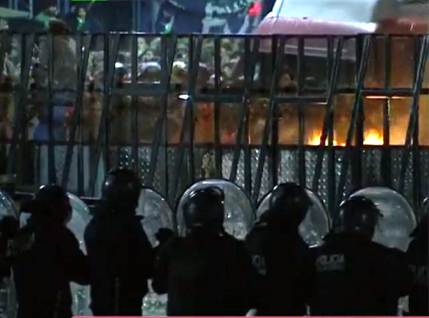 Les affrontements de Buenos Aires
