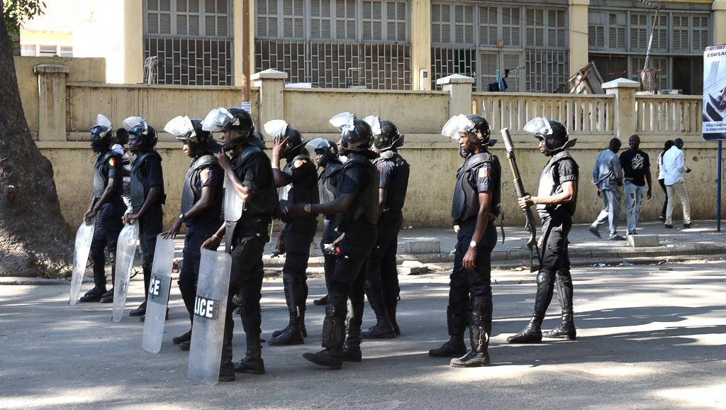 Déploiement policier à Dakar