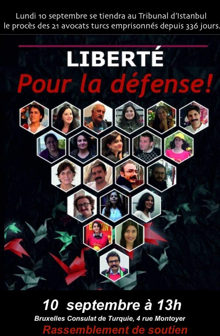Rassemblement à Bruxelles