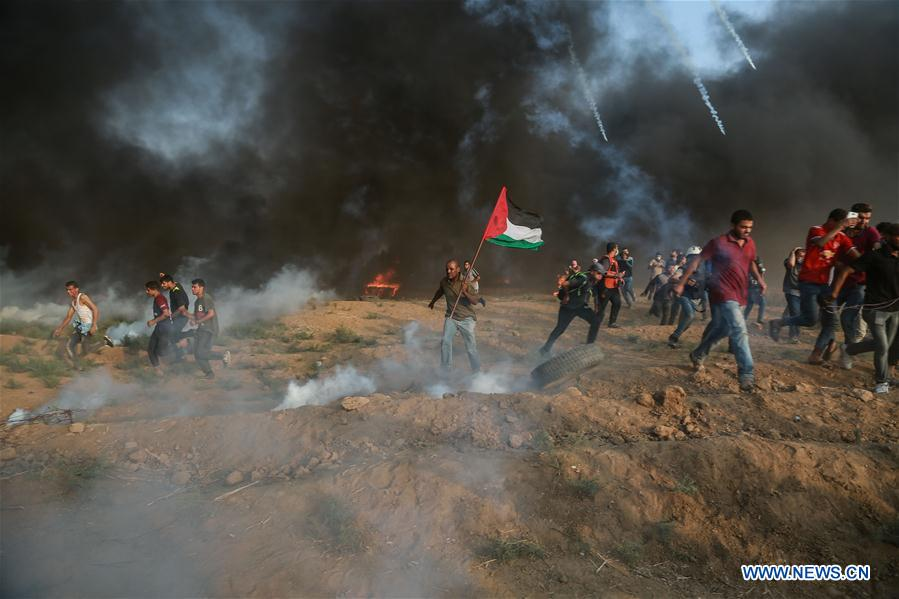 Les incidents à la frontière de Gaza
