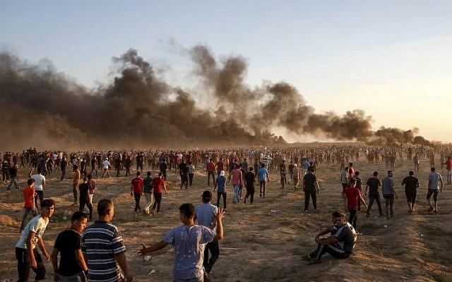 Manifestation à Gaza ce vendredi