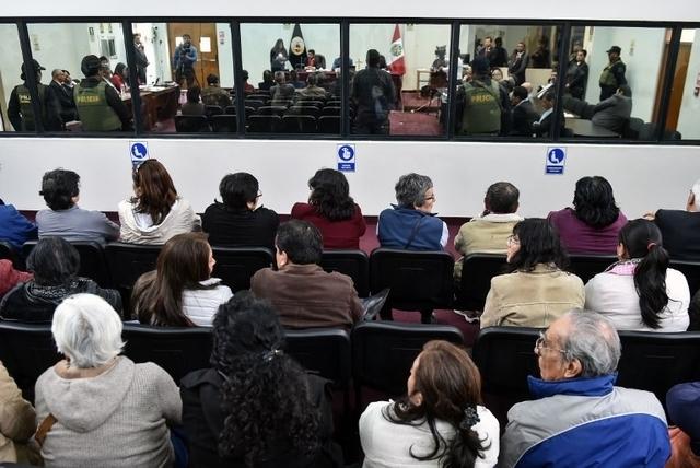 Procès de l'attentat de 1992 à Lima