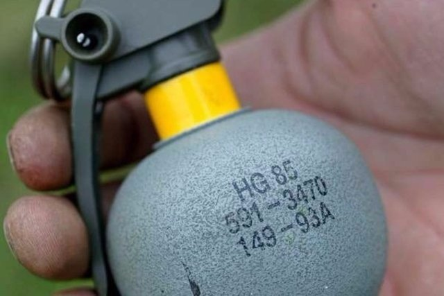 Une grenade HG85
