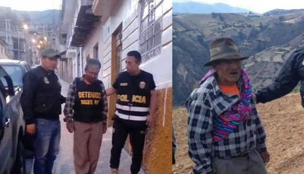 Arrestation de Tomas Rojas Márquez