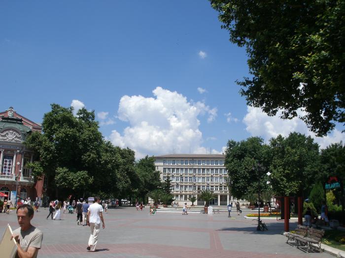 Le palais de justice de Varna
