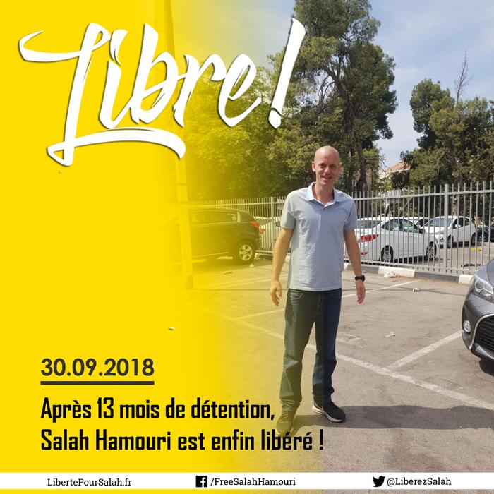 Salah Hamouri est libre !