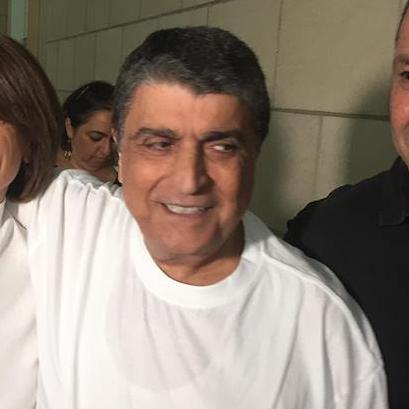 Raja Eghbarieh à sa sortie du tribunal