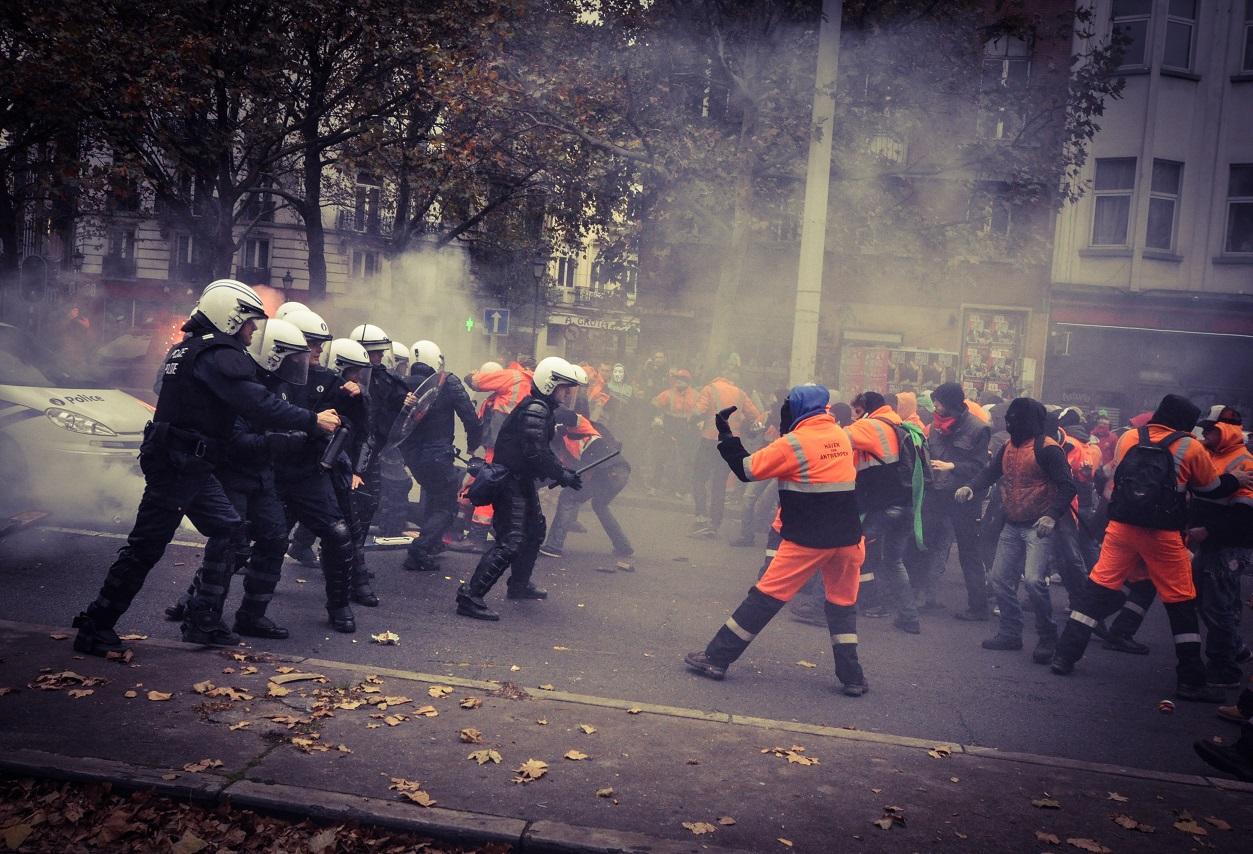 La manifestation du 6 novembre 2014