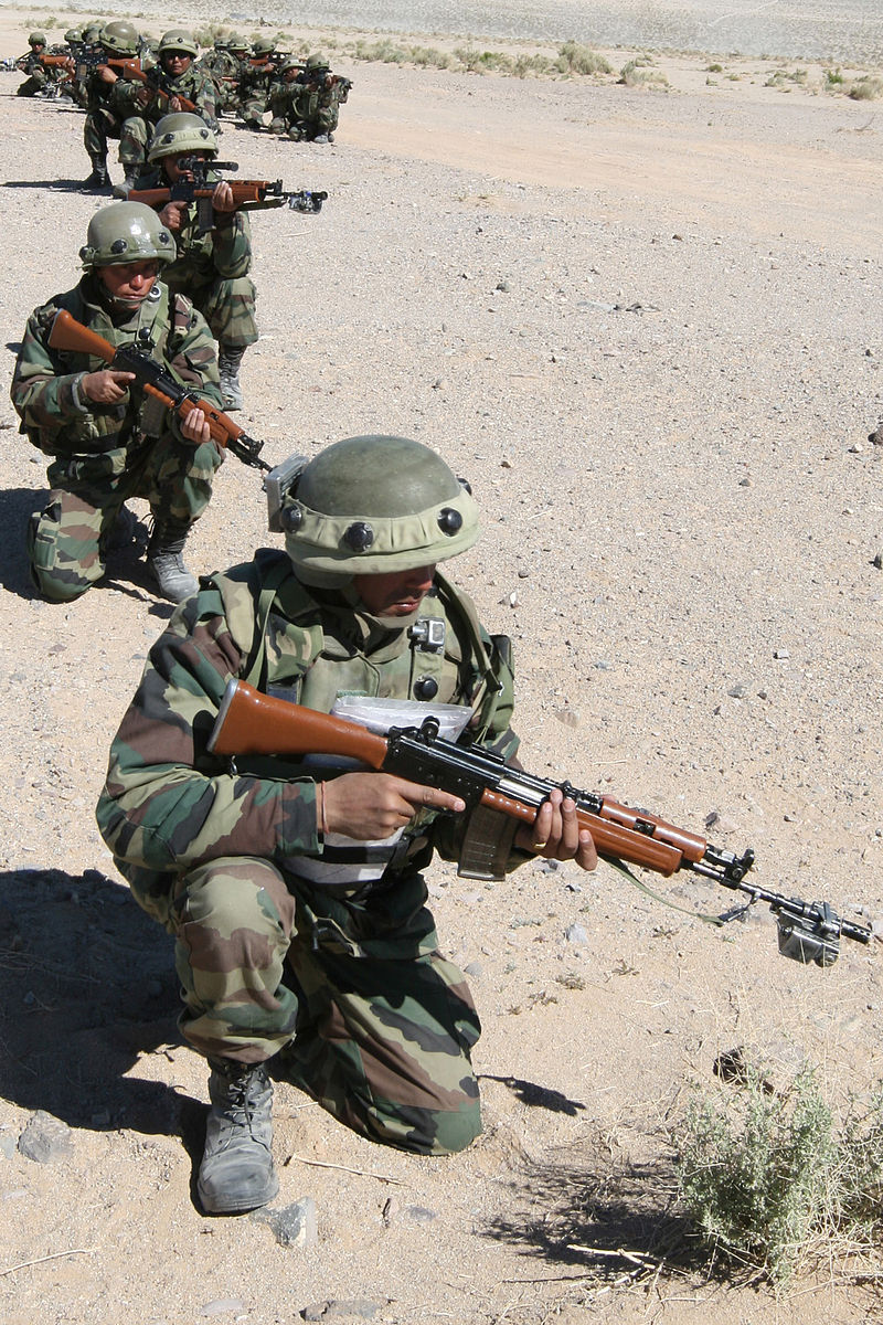 Commandos du régiment Gorkha