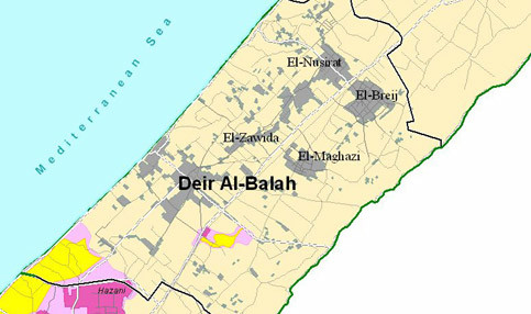 La municipalité de Deir Al-Balah, à Gaza