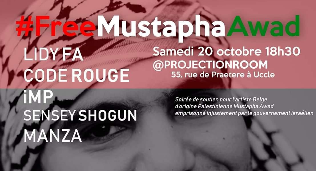 Solidarité avec Mustapha Awad