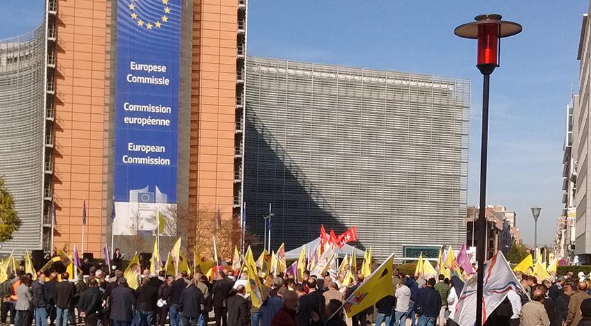 Le rassemblement kurde de Bruxelles