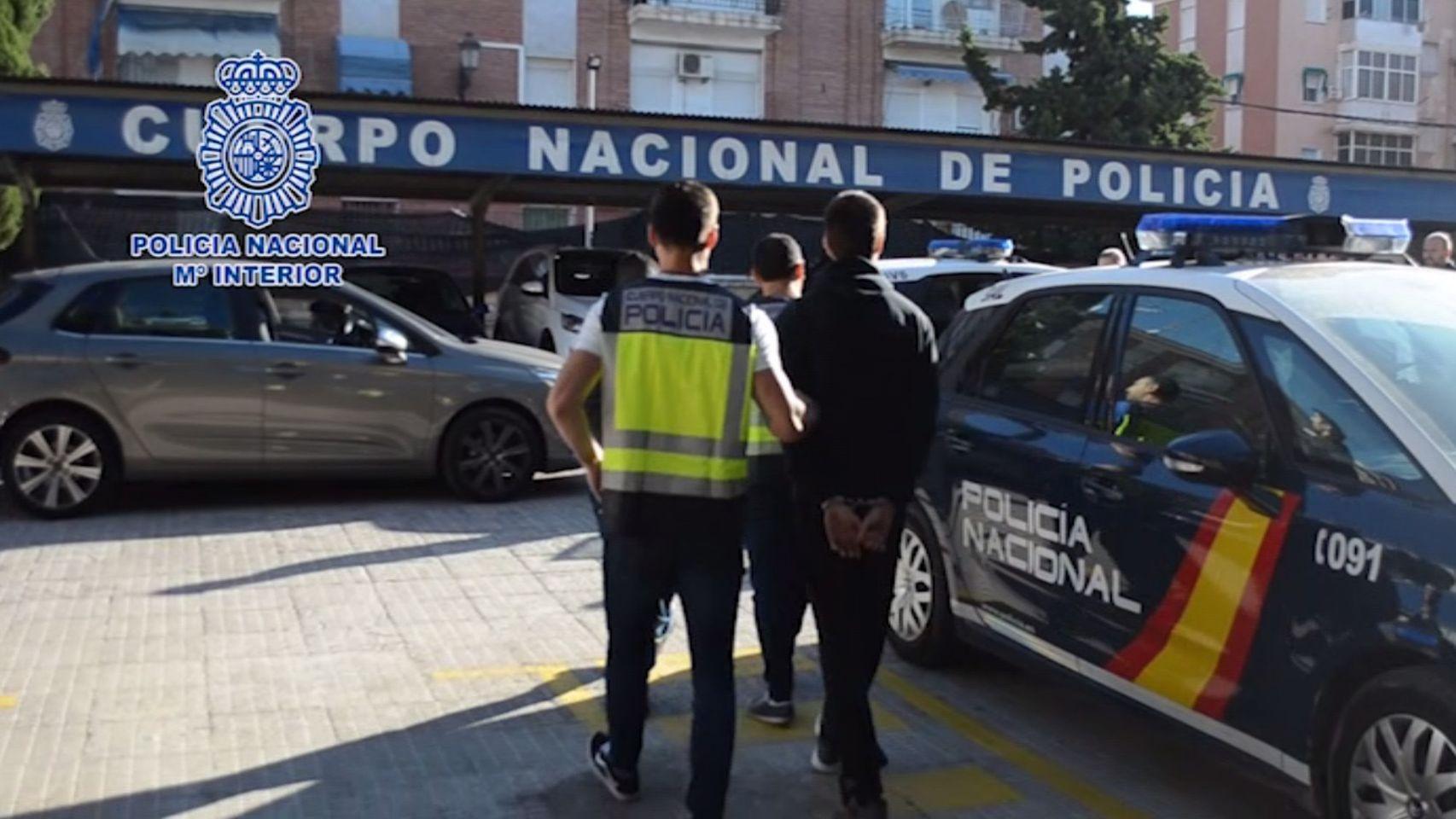Les arrestations en Murcie