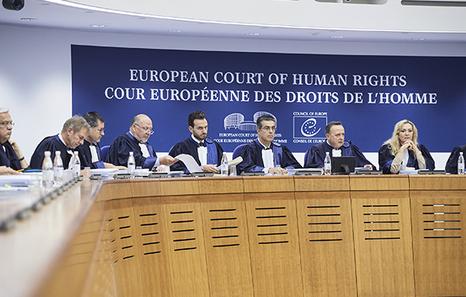 Les juges de La Cour européenne des droits de l'homme